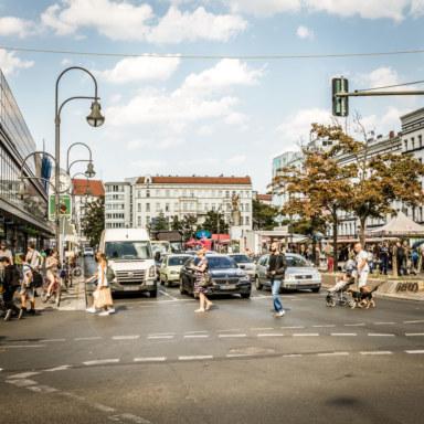 Berlin Neukoelln Overview Landscape